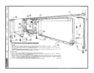 7021-6574a RACE Under-Beam Panel and Floor Entry Assembly